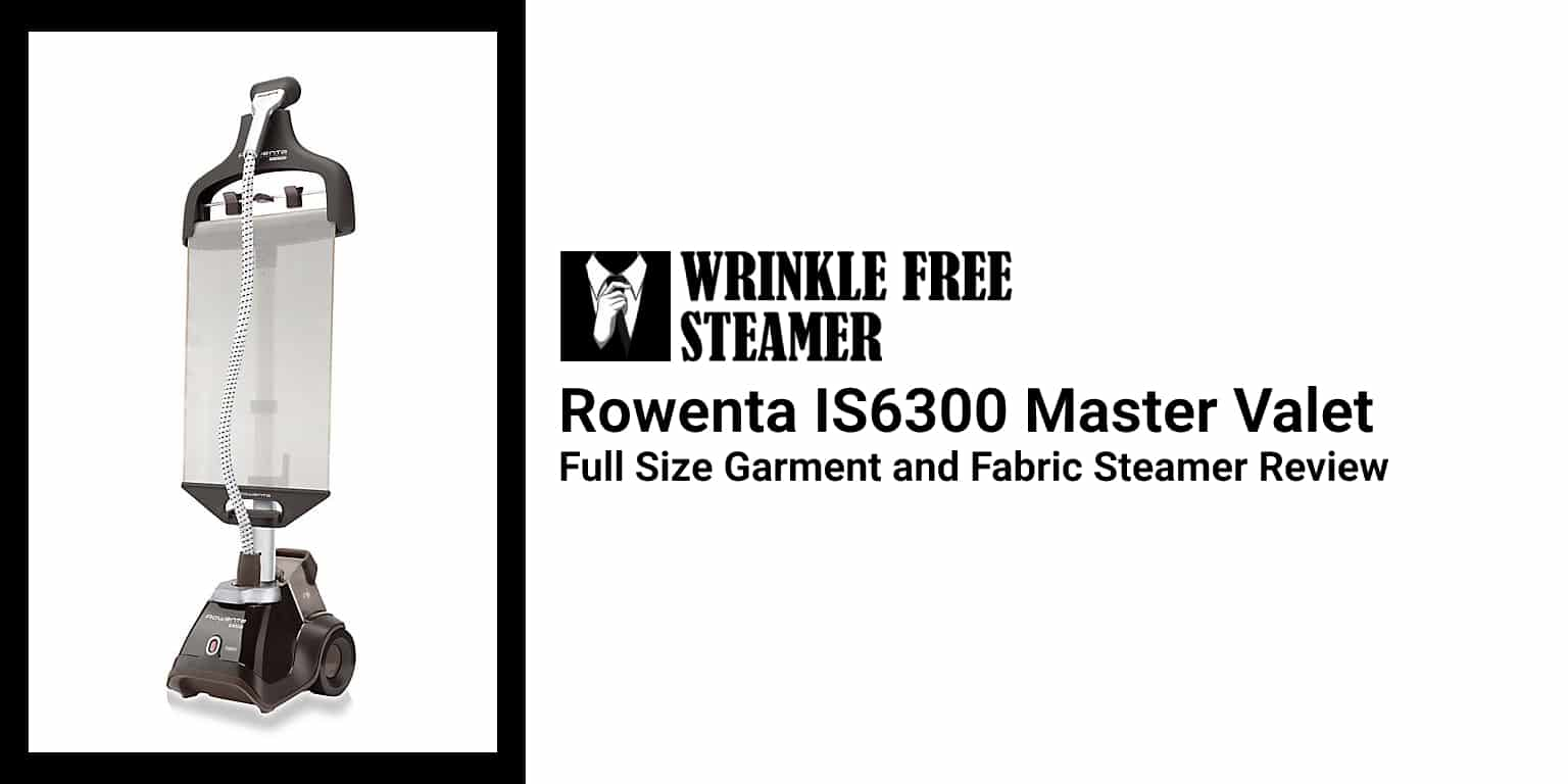 Rowenta IS6300 Master Valet Full Size Garment and Fabric Steamer Review