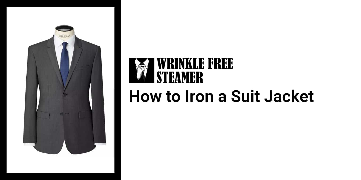 How to Iron a Suit Jacket