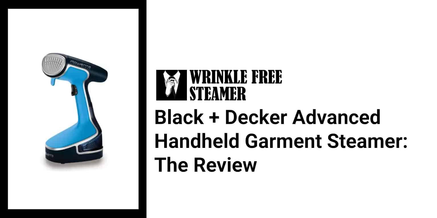 Black + Decker Advanced Handheld Garment Steamer